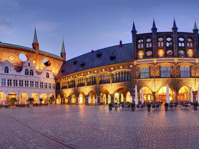 Rathaus zu Lübeck (c) LTM - Uwe Freitag