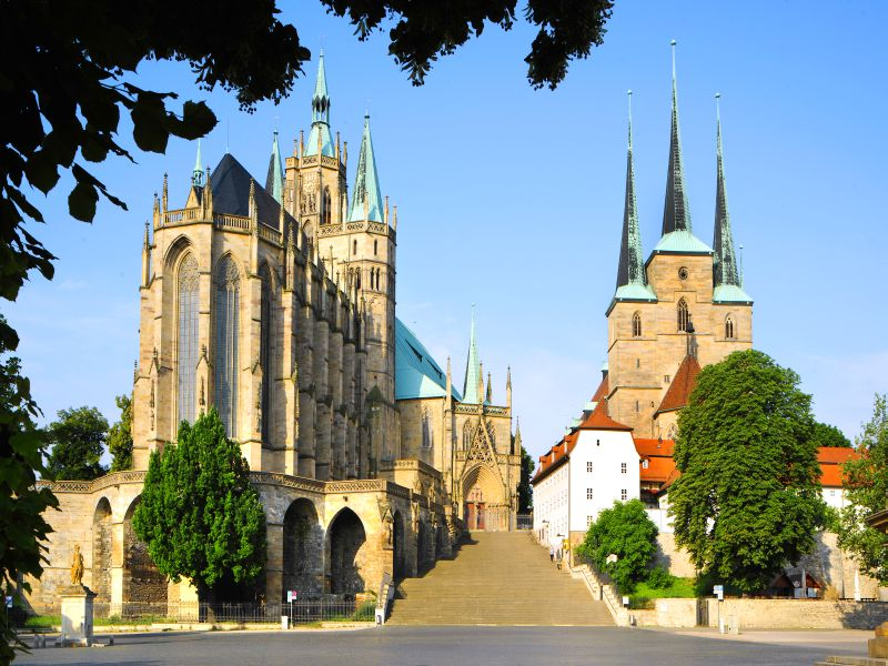 Erfurt Cathedral & St. Severi