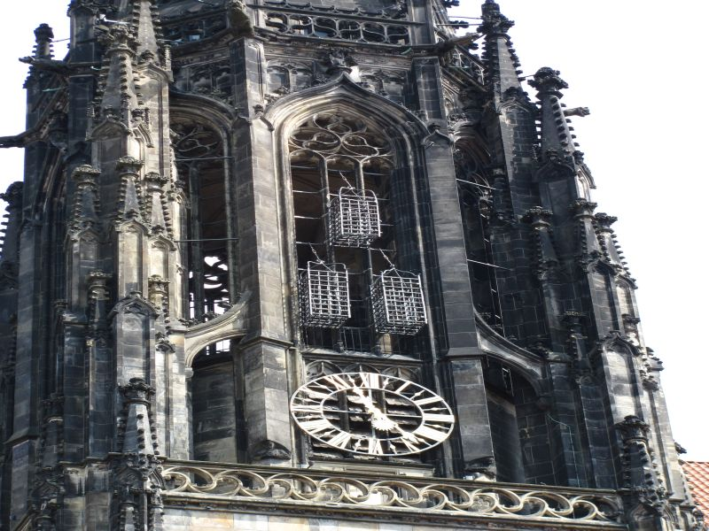 Cages at St. Lambert's Church Münster